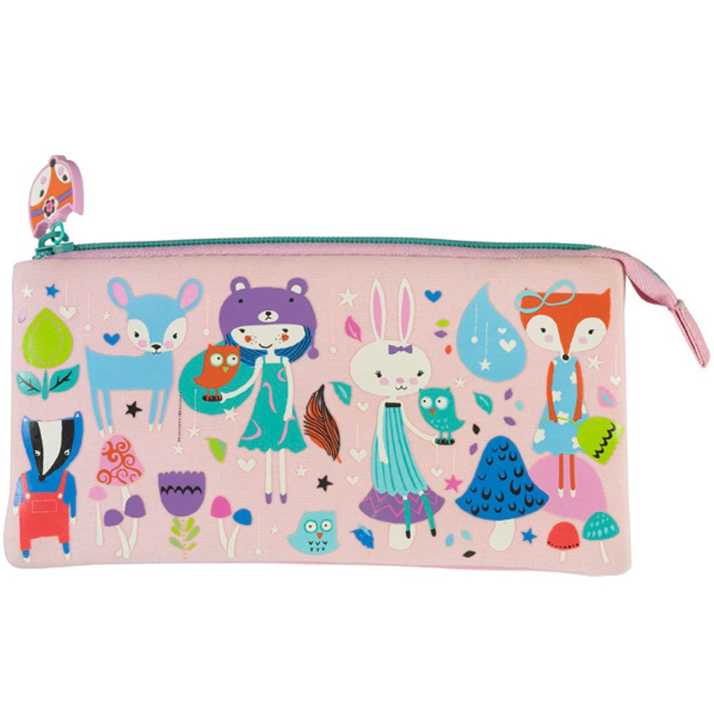 Paperchase Foxtrot triple pencil case