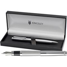 Kingsley Chequer fountain pen ball set