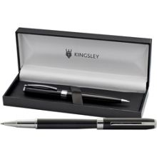 Ashley rollerball and ball pen set