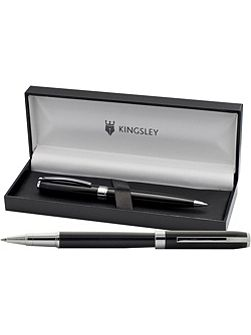 Kingsley Ashley rollerball and ball pen set