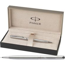 Parker Sonnet steel slim ball pen pencil set