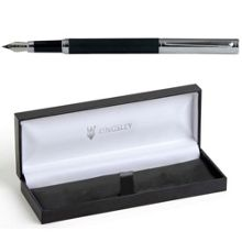 Kingsley Barley doue black ct fountain pen