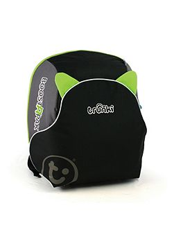BoostApak backpack and booster seat Green