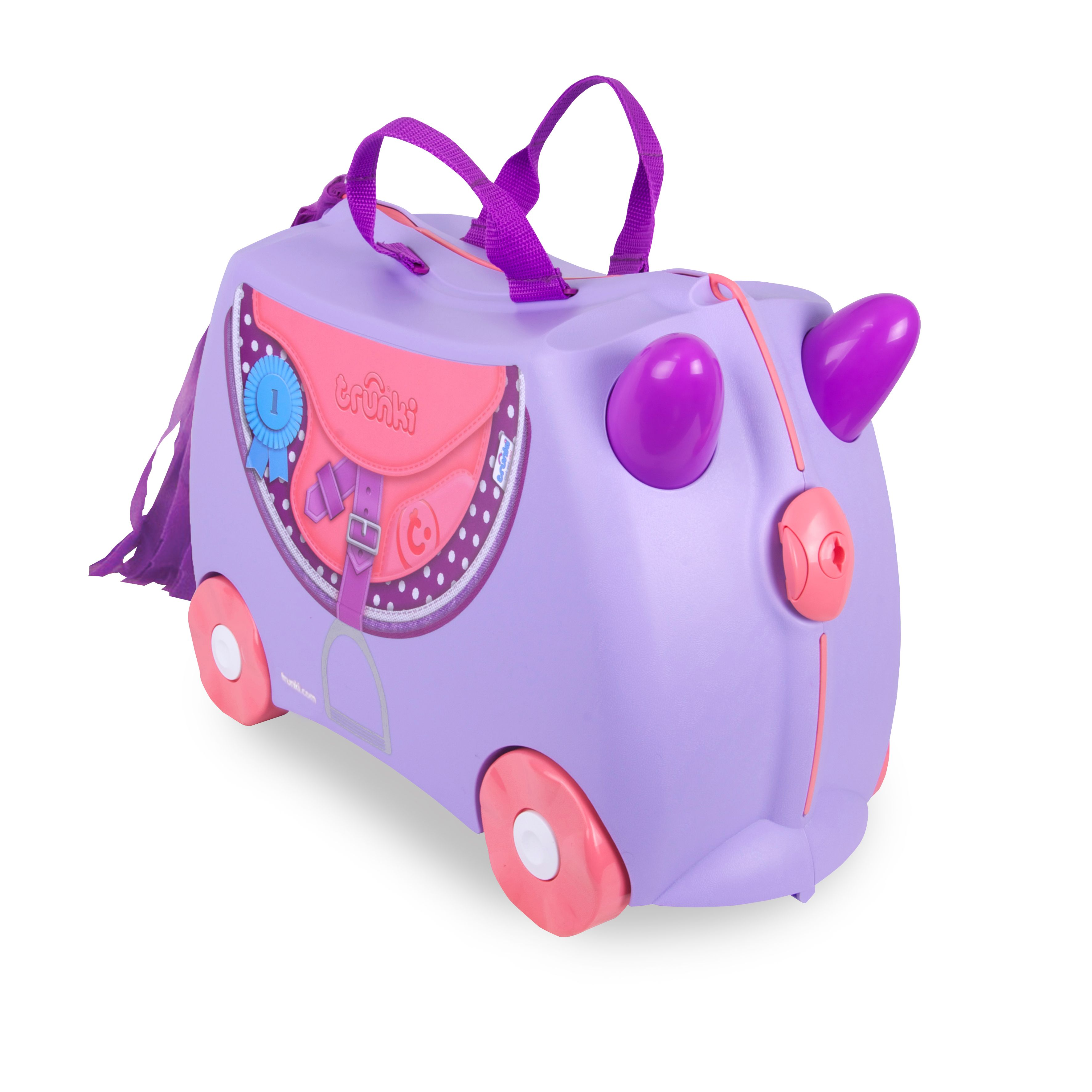 Trunki Bluebell Ride-On Suitcase, Blue