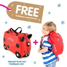 Trunki Harley with free Pinch PaddlePak