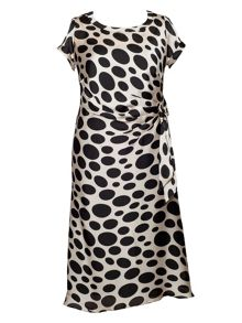 Spot dress (with separate slip)