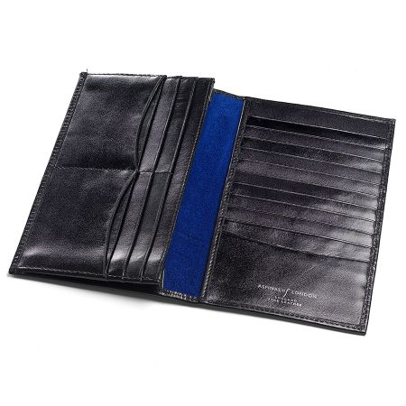 Aspinal of London Men`s large breast wallet