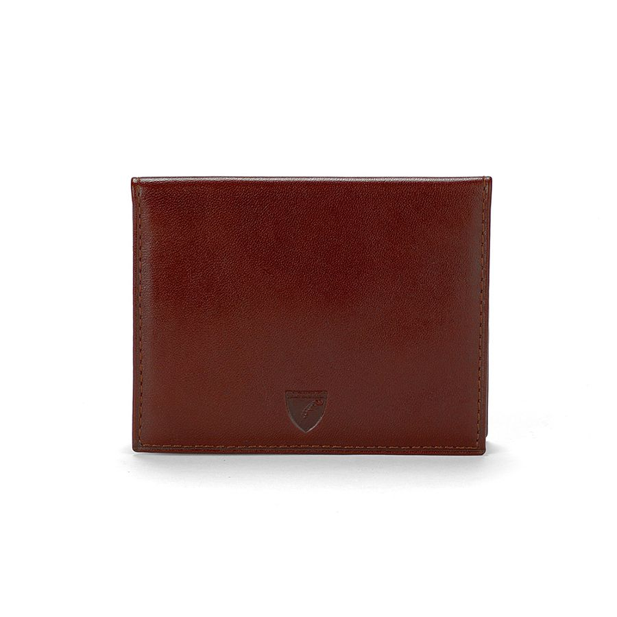 Aspinal of London ID & Travel Card Case Cognac