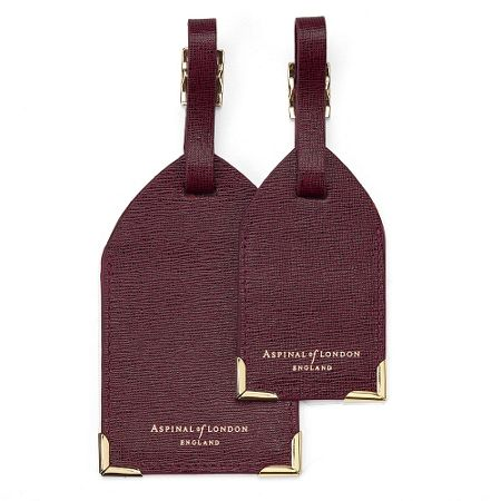 Aspinal of London Luggage tags