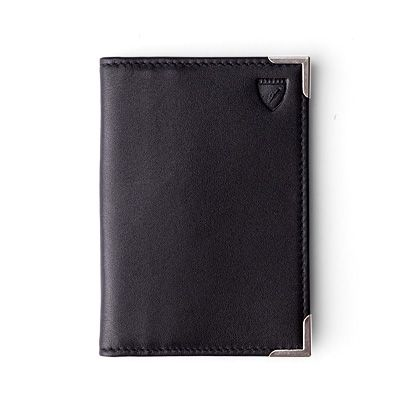 Double fold credit card case