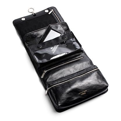 Men`s hanging Washbag - Black EBL