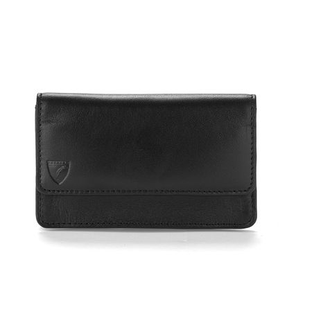 Aspinal of London Black Business & credit card case