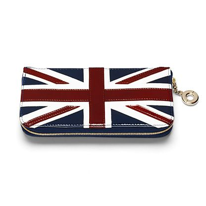 Aspinal of London Brit clutch zip wallet product image
