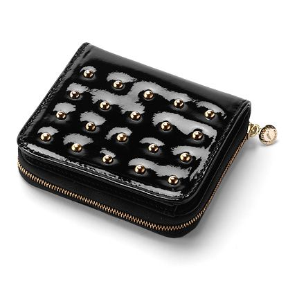 Aspinal of London Biker zipped coin purse product image