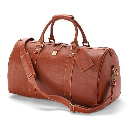 Boston bag in tan deer