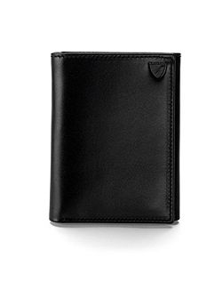 Trifold Wallet Smooth Black