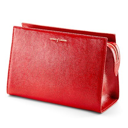 Aspinal of London Cosmetic Bag, Red