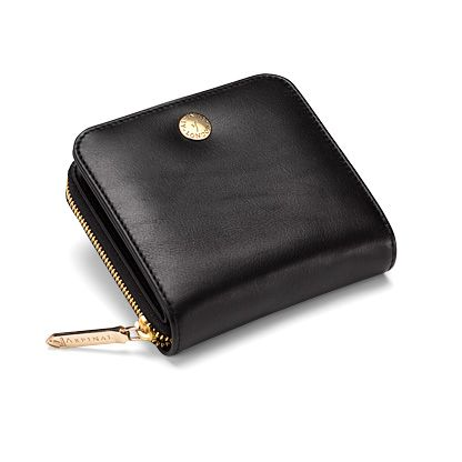 Katie Coin Purse Smooth Black