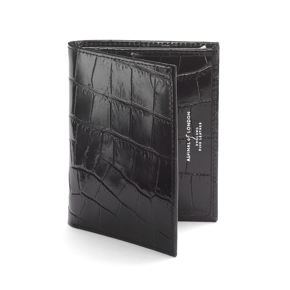 Double credit card case pocket