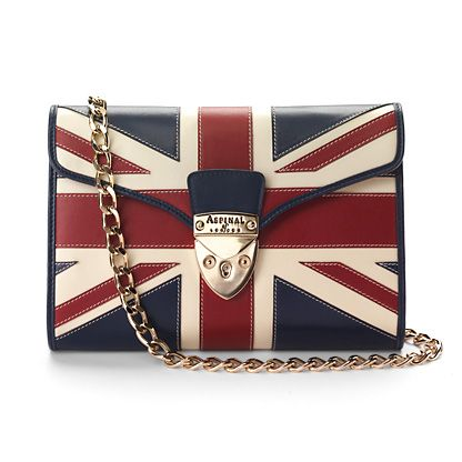 Brit Manhattan Clutch