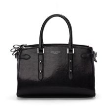 Brook Street Bag Black Lizard Print
