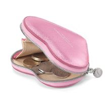 Heart coin purse