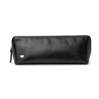 Men`s travel toiletry pack smooth black