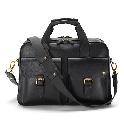 Harrison overnight bag black pebble
