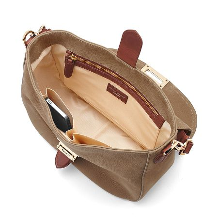 Aspinal of London Slouchy saddle bag