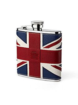 Brit classic hip flask