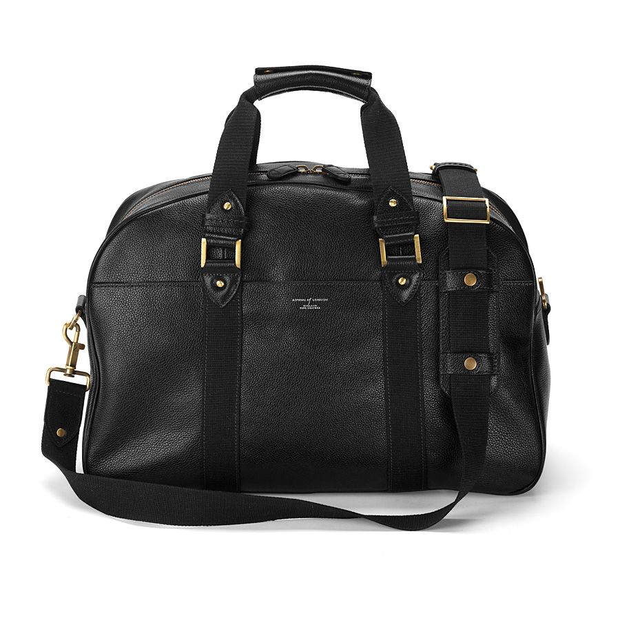 W.2. holdall black pebble