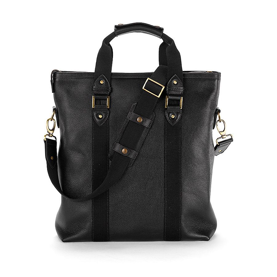 W.1. tote bag black pebble
