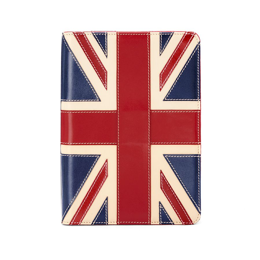 Brit ipad mini stand-up case - royal sapphire blu