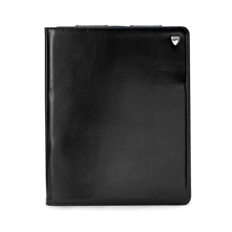 Ipad 3 stand-up case - black ebl & cobalt blue su