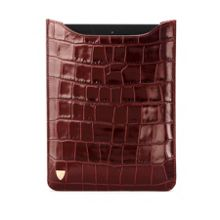 Ipad mini sleeve - amazon brown croc & espresso s