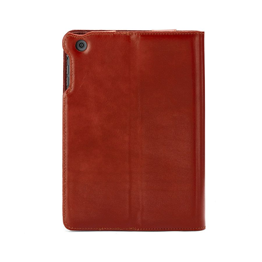 Ipad mini stand-up case - cognac ebl & espresso s