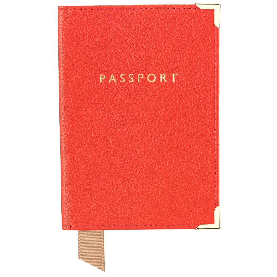 Plain passport cover