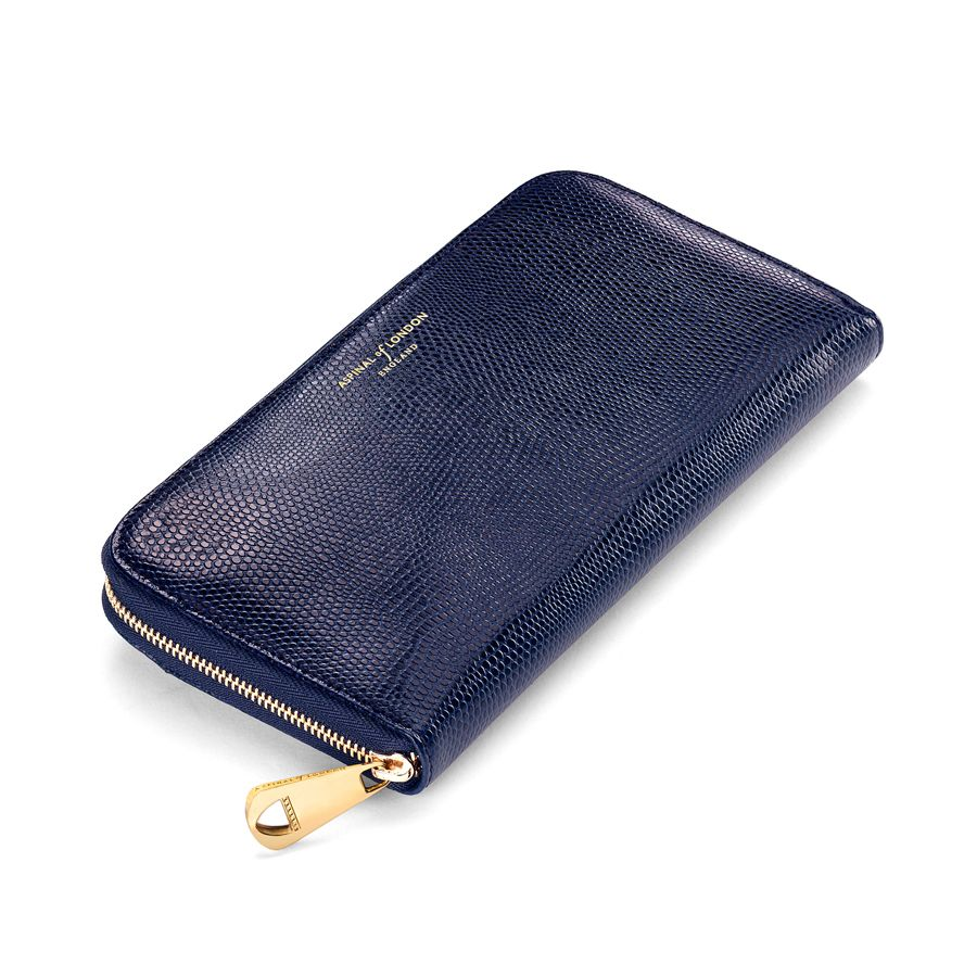 Continental zip around wallet