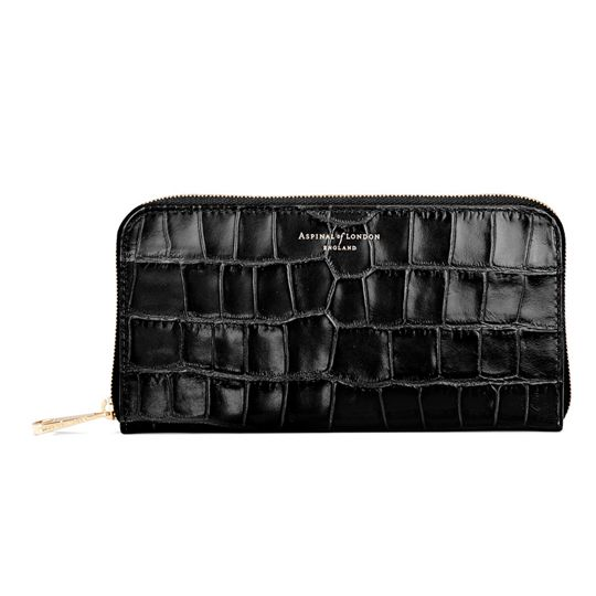 Aspinal of London, Continental Zip Around Wallet