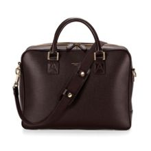 Men`s laptop bag saffiano
