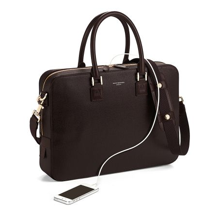 Aspinal of London Small mount street shoulder bag