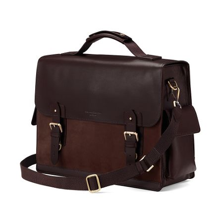 Aspinal of London Shadow Convertible Briefcase