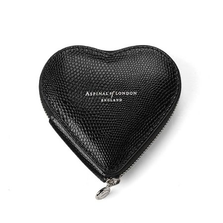 Aspinal of London Heart coin purse
