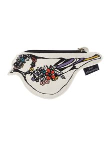 Bird multi-coloured coin purse