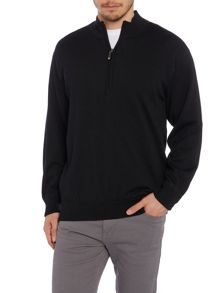 Lined merino sweater