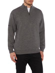 Proquip 1/2 zip lined merino sweater