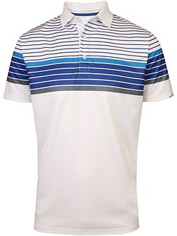 Technical Chest Stripe Polo