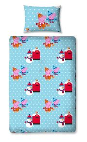 Christmas Letters Single Rotary Duvet