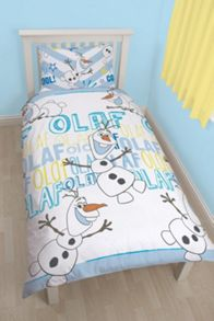 Disney Frozen Olaf Single Rotary Duvet