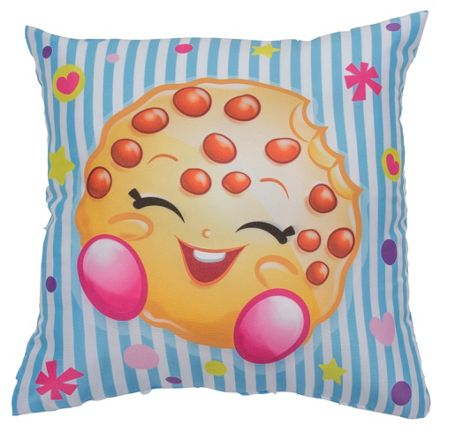 Shopkins Cushion - Blue